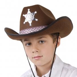 Vilten cowboyhoed kids