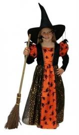 Heksen jurk meisje