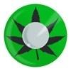 Feest Lenzen Cannabis Leaf
