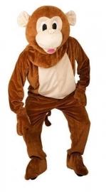 Promotie kostuum aap