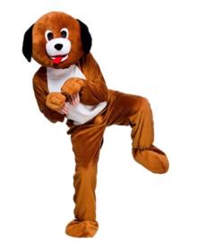 Honden mascotte kostuum