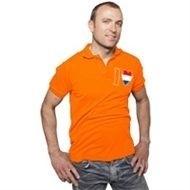 Heren T-shirt met rood wit blauw hart