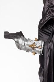 Hand future met pistool