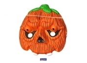 Halloween kindermasker pompoen
