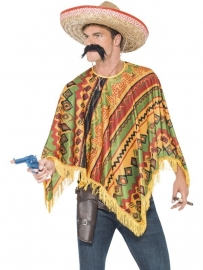 Mexicaanse poncho set