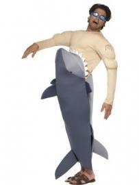 Fun haaien kostuum