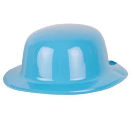 Bolhoed pvc blauw