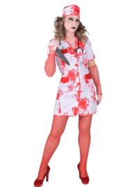 Bloederige verpleegsters jurk