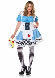 Alice in Wonderland jurk