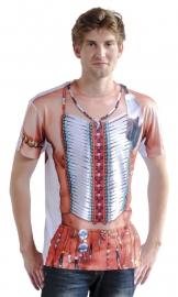 Indiaan T-shirt 3D