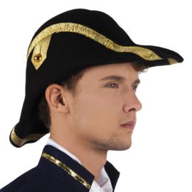Hoed admiraal Bicorne