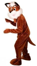Mascotte kostuum vossen