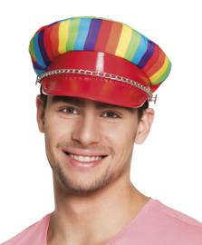 Regenboog pet Deluxe
