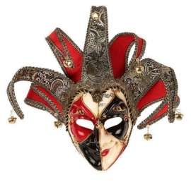 Venetiaans masker man deluxe