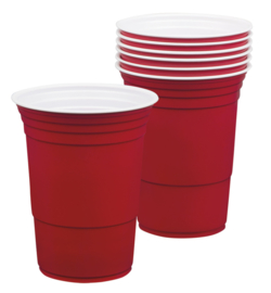 American Red cups 6 stuks