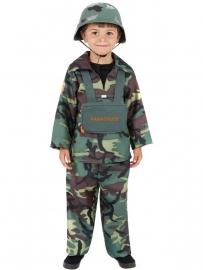Leger boy kostuum