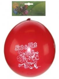 Sint en piet ballonnen