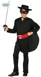 Zorro kostuum jongens