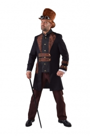 Steampunk deluxe kostuum