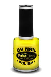 Fluoriserende gele nagellak