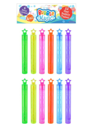 Neon bellenblaas 12st