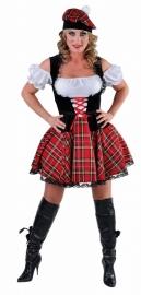 Sexy Schots jurkje met baret