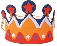 Vilten oranje kroon
