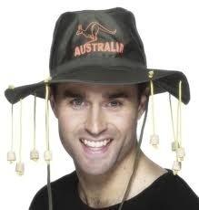 Hoed Aussies met kurken