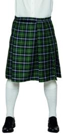 Schotse kilt heren groen