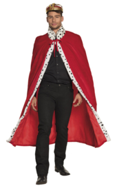 Koningsmantel royal rood