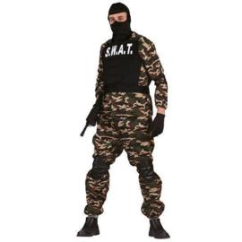 SWAT army kostuum