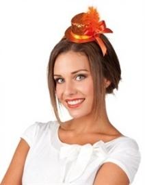 Tiara Oranje hoedje