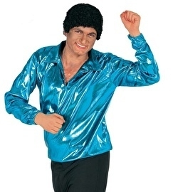 Disco shirt turqoise