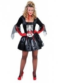 Lady skelet deluxe