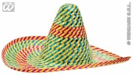 Sombrero multicolor Deluxe