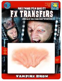 3D transfer vampier wenkbrauwen