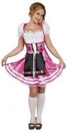 Helena Tiroler jurkje roze