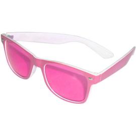 Bril glitter pink