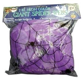 Spinneweb paars