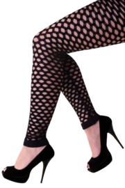 Legging naadloze gaten zwart