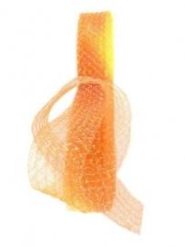 Oranje tule op rol