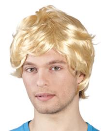 Retro pruik blond