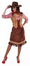 Cowgirl jurkje met blouse