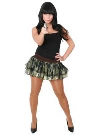Tule rokje army girl