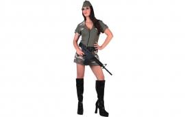 Militaire vrouw