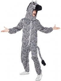 Zebra dierenpak