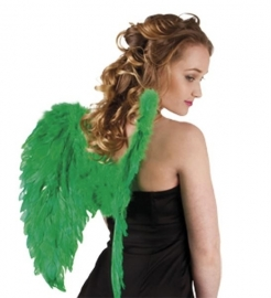 Vleugels veren groen