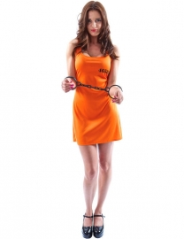 Gevangenen jurkje oranje
