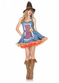 Dress Sunflower scarecrow