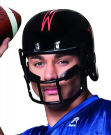 American football helm zwart